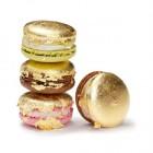 Goldene Macarons von Sweet Couture