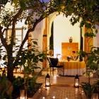 Marrakesch Hotel Riyad El Cadi Garten im Hof