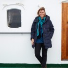Norwegen-Lofoten-Hege-Marie-Köster-an-Bord-der-MS-Lofoten