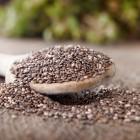 Chia-Samen, Chia, Grundnahrungsmittel, Superfood, Körner, schwarz, weiß, Mayas, Azteken