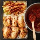 Kimchi, koreanisch, fermentiert, Kimchi-Paste
