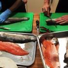 Filetieren der Fische