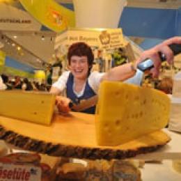 Käse aus Bayern in der Länderhalle