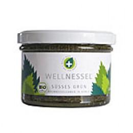 Süßes Grün aus Brennnesselsamen und Bioland-Honig