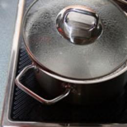 Energiefresser: Kochen und Kühlen.
