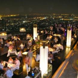 Sirocco: das höchste Open Air Restaurant der Welt