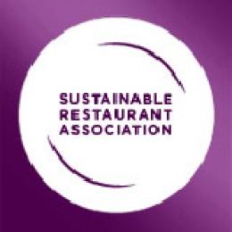 Logo der Sustainable Restaurant Association.