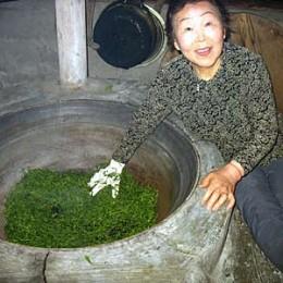 Grüner Tee hat Tadition