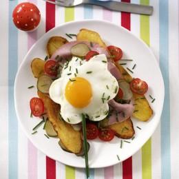 Auch Kartoffeln können zu einem irischen Frühstück gehören.