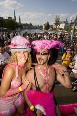 Die Street Parade zieht Techno-Fans aus aller Welt an
