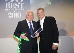 Eckart Witzigmann erhielt den Lifetime Achievement Award