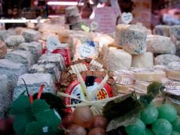Käse auf dem Marché Mouffetarde