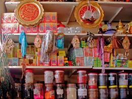 Marokkanischer Laden im Viertel Barbès