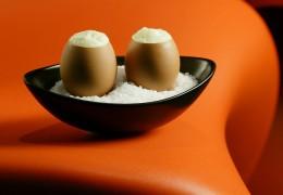 Experimentelle Eier-Tapas aus dem Tapaç 24