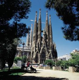 Die Sagrada Família ist einen Besuch wert