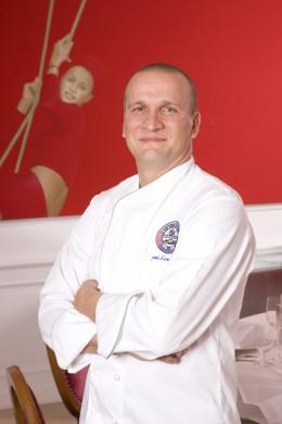 Sauli Kempainnen, der Küchenchef vom Restaurant Quadriga