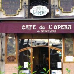 Eine Institution in Barcelona: Das Café de L'Opera an den Ramblas