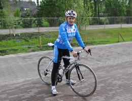 Managt ein Profi-Radteam: Marlies van Gerwen.