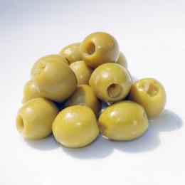 Manzanilla-Oliven mit Knoblauchpaste gefüllt