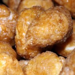 Glasierte Erdnüsse