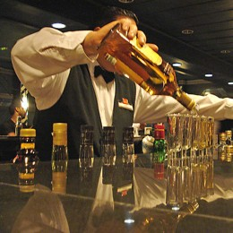 Mexikanischer Tequila ist ein beliebtes Party-Getränk