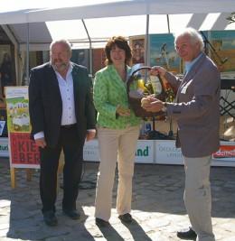 Ministerin Astrid Grotelüschen bei der Eröffnung der Eröffnung der Aktionstage Ökolandbau