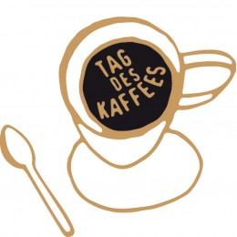 Kaffe pur am Tag des Kaffees