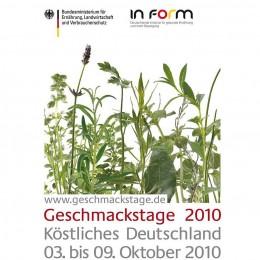 Köstliches Deutschland: Geschmackstage 2010