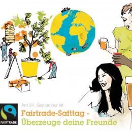 Fairtrade: Safttag