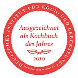 Auszeichnung Kochbuch des Jahres