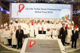 Stolze Köche beim LG Finale