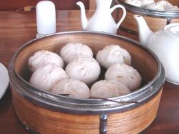 Baozi aus dem Dämpkörbchen