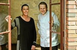 Neues Team im Umspannwerk: Restauantleiterin Patricia Calederón Böhme und Küchenchef Matthias Gleiß