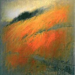 Michael Apitz, Weinlandschaft, 2007, Acryl auf Leinwand, 90 x 90 cm