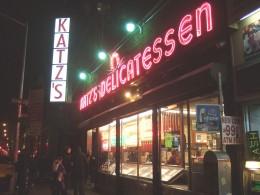 Katz's Delicatessen ist eine Institution in New York