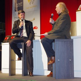 3-Sterne-Koch Harald Wohlfahrt diskutiert mit FAZ-Kritiker Jürgen Dollase