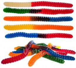 Gigantische Gummiwürmer.