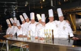 Die Köche-Crew beim RS Rheinhessen Silvaner