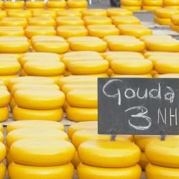 Käsemarkt in den Niederlanden.