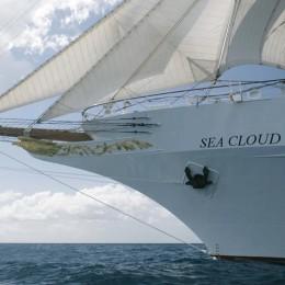 Der Windjammer Sea Cloud II.
