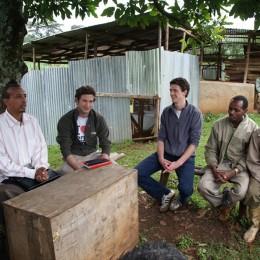 Geschäfts-Besuch in Äthiopien.