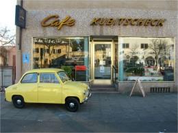 Außenansicht des Café Kubitscheck