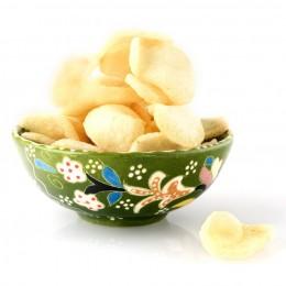 Beliebte Beilage zu Nasi-goreng: Kroepek