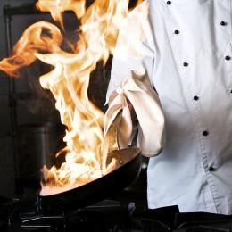 Flambieren: effektvolle Zubreitung