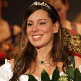 Die scheidende Bierkönigin Franziska Sirtl