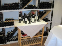 Der Wein wartet nur darauf, getrunken zu werden