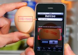 """Identifikation eines Erzeugercodes per Smartphone App """"Barcoo"""""""