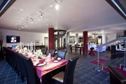 Stilvoll: Die gedeckte Tafel im La Cocina
