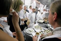 Die Kitchen Party ist eine Besonderheit des St. Moritz Gourmet Festivals