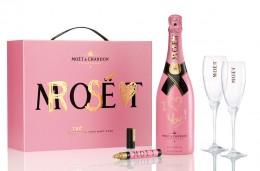 """Geschenk für Verliebte: """"Tag Your Moët Rosé"""""""